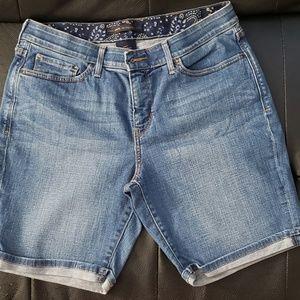 Levi's 525 Cuffed Jean Shorts